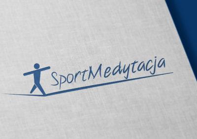 Sportmedytacja – Logo